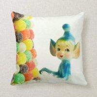 Blue Pixie Pillows - Decorative & Throw Pillows | Zazzle