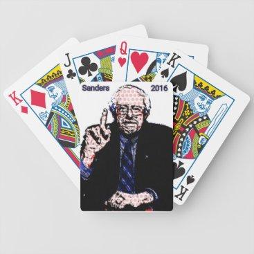 Bernie Sanders 2016 Bicycle Playing Cards