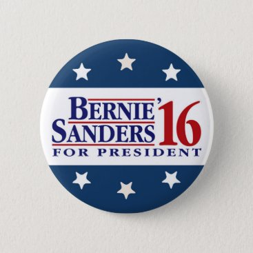 Bernie Sanders For President Pinback Button