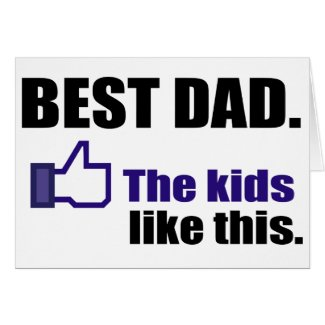 BEST DAD GREETING CARDS