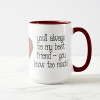 Best Friend Coffee Mug   Zazzle