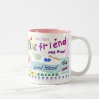 Best Friend Mug   Zazzle