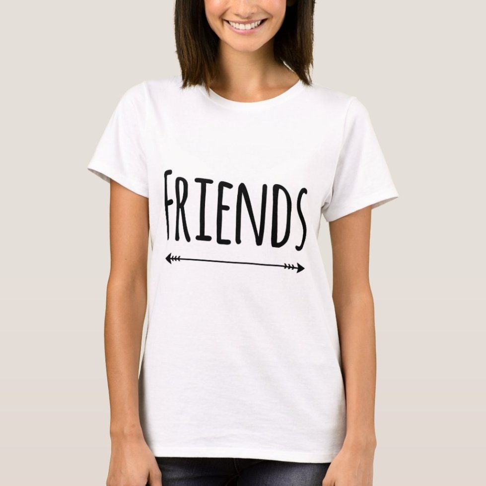Matching BFF T-Shirt For 2