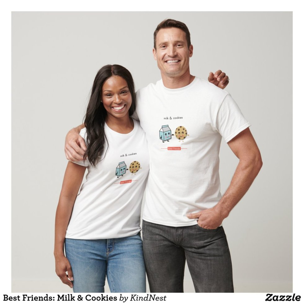Best Friends: Milk & Cookies Baby T-Shirt