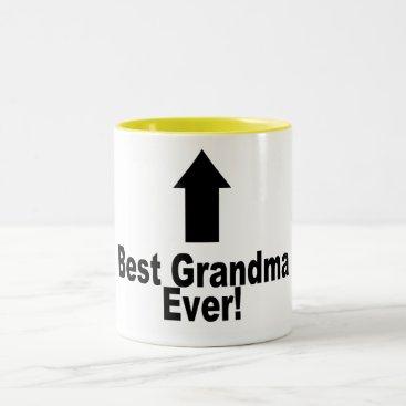Best Grandma Ever Two-Tone Coffee Mug