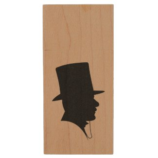 Best Man or Groomsman's Photo Storage Wood USB 2.0 Flash Drive