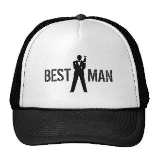 Best Man Toast Trucker Hat