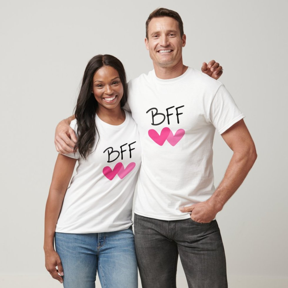 I Love My BFF Best Friends Forever Hoodie