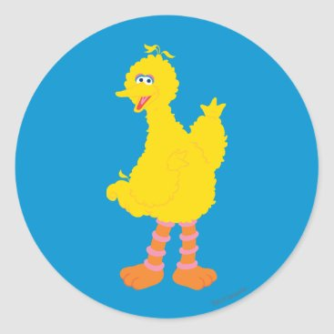 Big Bird Graphic Classic Round Sticker