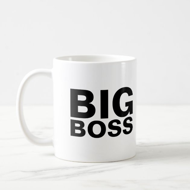 Big Boss Coffee Mug Zazzle
