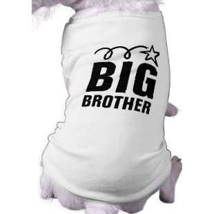 Big Brother Dog Shirt | Cute pet clothing