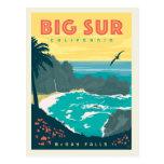 Big Sur California | McWay Falls Postcard