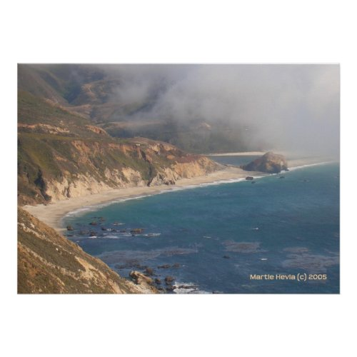 Big Sur Rocky Beach print
