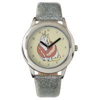 Bijorn The Chubby Unicorn Loves Bacon Wrist Watch