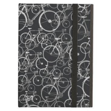 bike pattern ~blackandwhite cover for iPad air