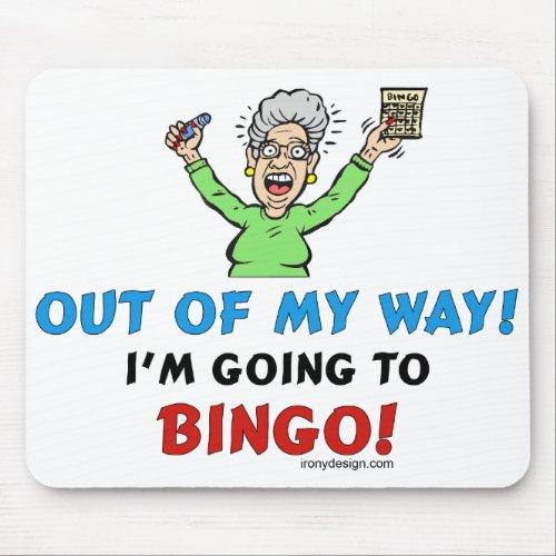 Bingo Lovers Mouse Pad