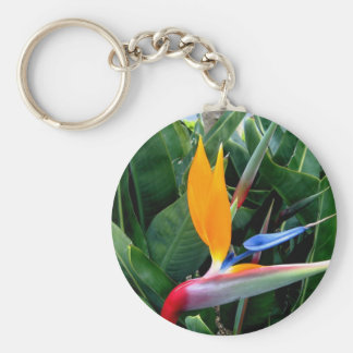 Bird Of Paradise Flower - California Key Chain