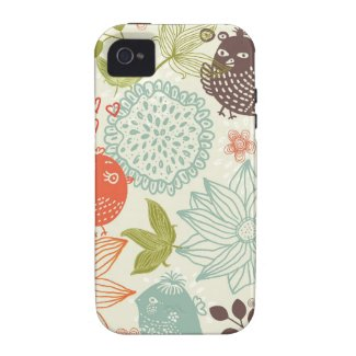 birds in love iphone 4/4s tough case iPhone 4/4S cover
