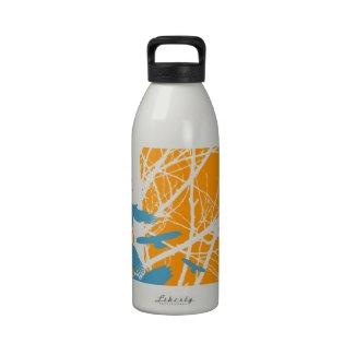 Birds Outdoors Water Bottles