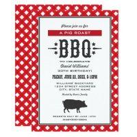 Birthday Party Invitations   Backyard BBQ Theme   Zazzle