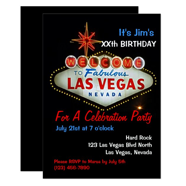 Save Date Cards Las Vegas