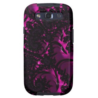 Bitter Sweet Fractal Art Samsung Galaxy S3 Case