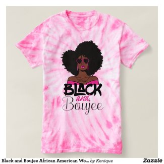 Black and Boujee African American Woman