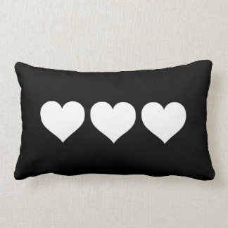 Online Whole Black Heart Pillow From China