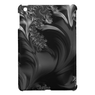 Black Beauty Fractal Art Case For The iPad Mini