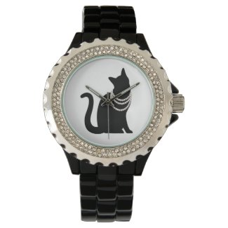 Black Cat Princess Watch