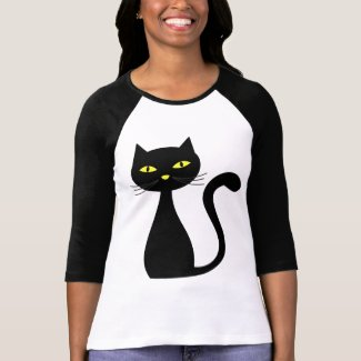 Black Cat Halloween T-shirts shirt
