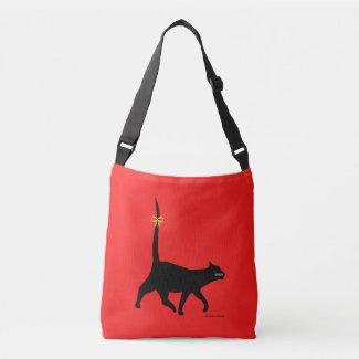 Prancing Black Cat Bags