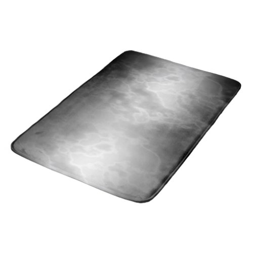 Black Charcoal Marble Bath Mat
