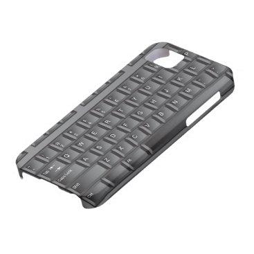 Black Keyboard iPhone SE/5/5s Case
