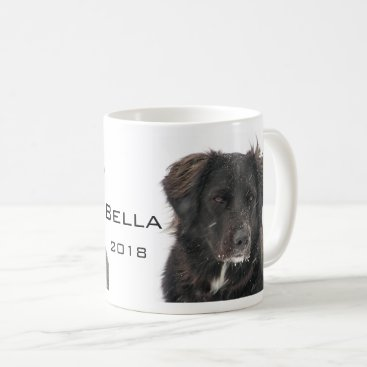 Black Lab Pet Dog Photo Name Year Coffee Mug