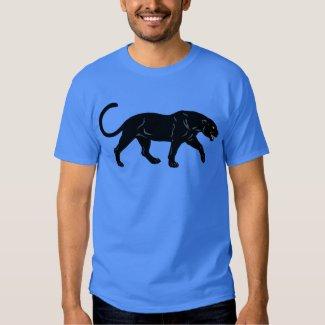 Illustrated Black Panther Shirt