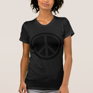black peace sign shirts