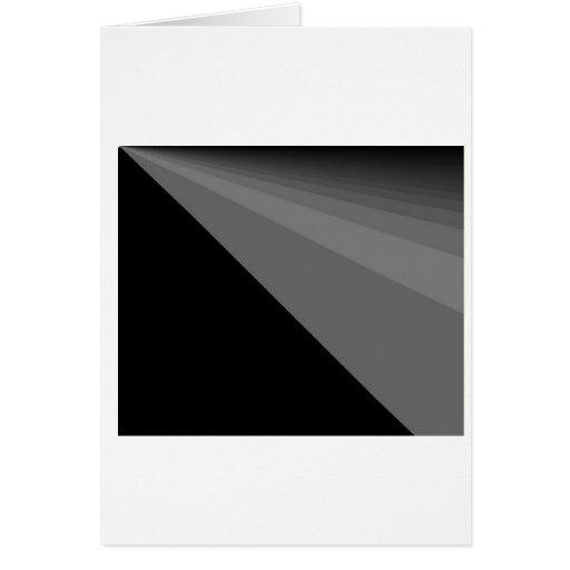 Black Rainbow Greeting Card Cards