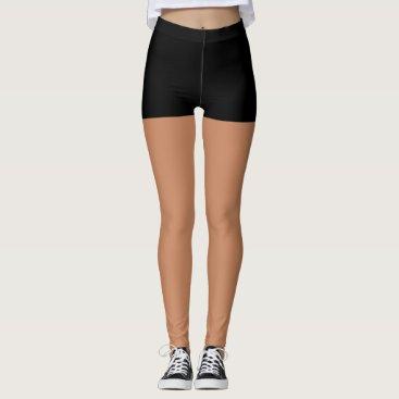 Black Shorts Leggings