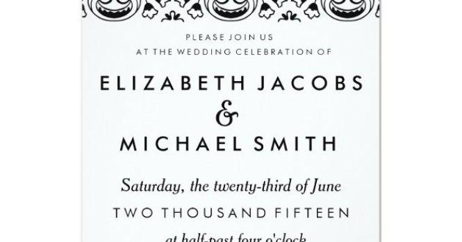 Wedding Invitation Wording Both Pas In Spanish Invitations Samples