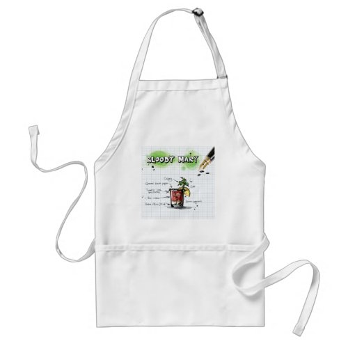 Bloody Mary Adult Apron