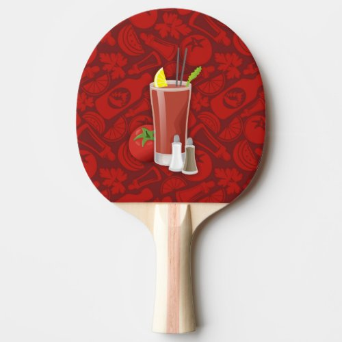 Bloody Mary Ping Pong Paddle