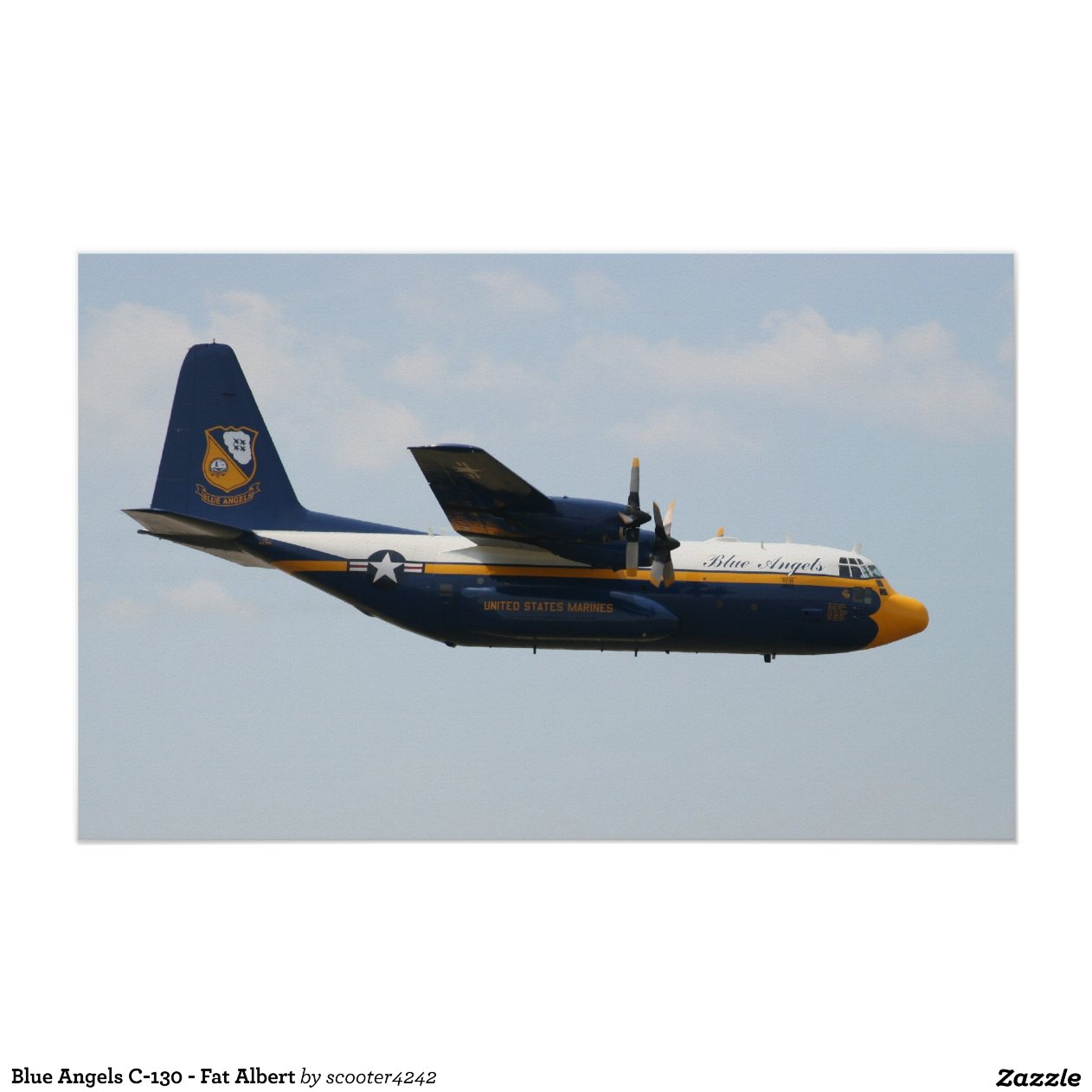 Blue Angels 130 Fat Albert Poster