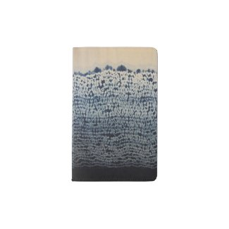 Blue Batik Moleskin Journal