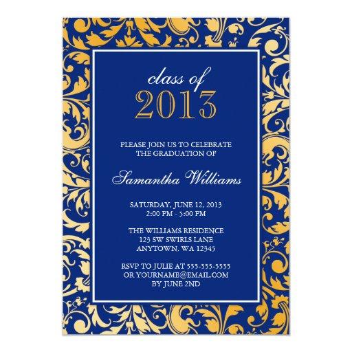 Quick Graduation Invitations