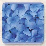 Blue Hydrangea Blossoms cork coasters