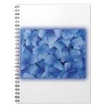 Blue Hydrangea Blossoms notebooks