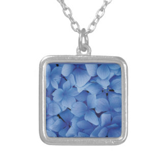 Blue Hydrangea Blossoms Pendant