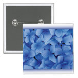 Blue Hydrangea Blossoms buttons