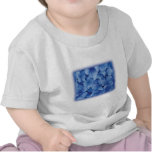Blue Hydrangea Blossoms t-shirts